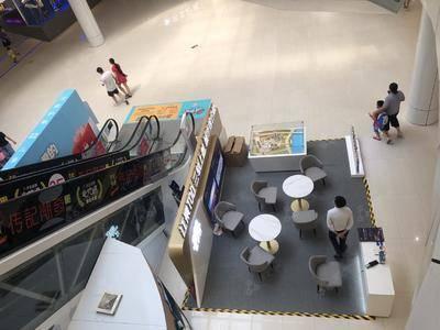 五矿江天际- 广州5号停机坪购物广场-椭圆中庭