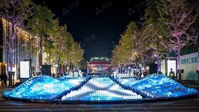 途观亮相活动- 杭州湖滨步行街