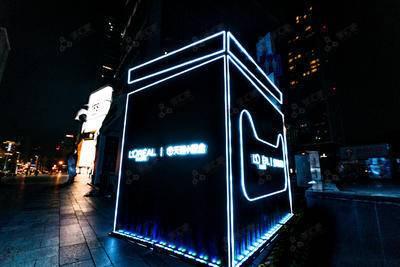 天猫小黑盒快闪-成都春熙路步行街