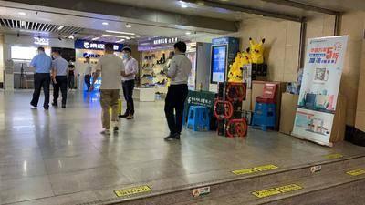 邮政信用卡推广-深圳市购物公园地铁站