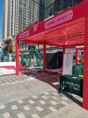 年货节邮政信用卡推广-深圳宝安福城万达广场