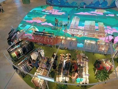 波期丹顿-武汉光谷k11购物艺术中心