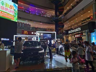 沃尔沃车展-成都海滨城购物中心