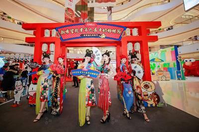 新希望乳业第六届牛奶粉丝节-杭州龙湖西溪天街