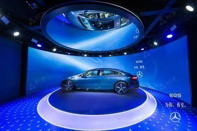 2021EQS未来世界巡展-西安老城根Gpark-欢乐广场