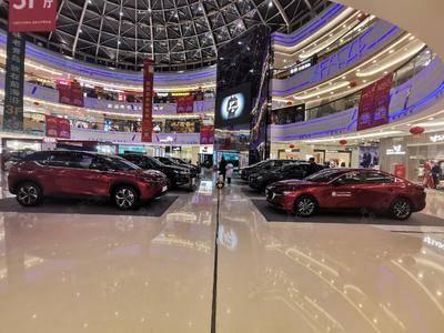 红旗车展-青岛李沧万达广场