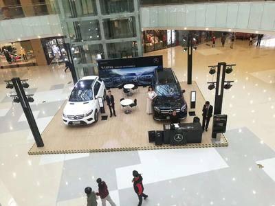 奔驰车展-上海静安大融城