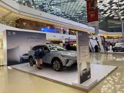 上汽R车展-北京合生汇购物中心
