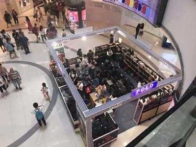 Polo箱包特卖-广州正佳东北中庭