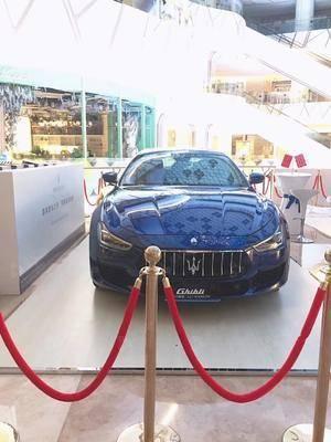 玛莎拉蒂车展-武汉光谷k11购物艺术中心
