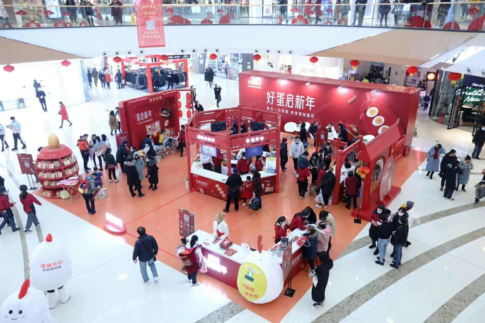 圣迪乐村鸡蛋品宣推广-重庆巴南万达广场
