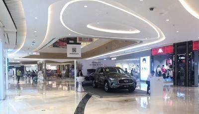 英菲尼迪QX50商超静展-东莞翔龙天地广场