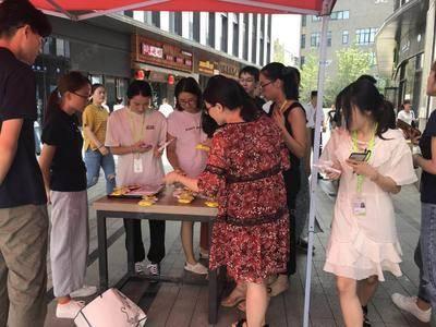 杭州湾流国际共享公寓推广-杭州恒生科技园-三期餐厅门口