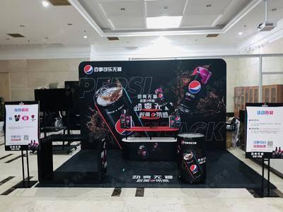 百事可乐无糖推广-上海安基大厦