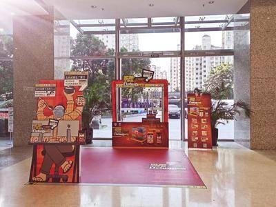 六月鲜拌饭酱推广-上海珠江创意中心