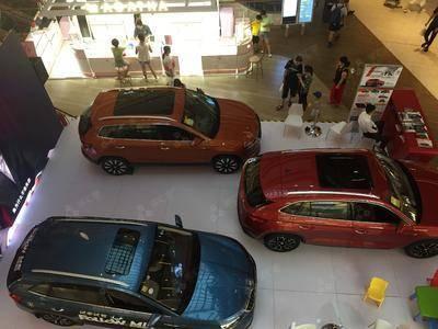 斯科达车展-上海七宝万科