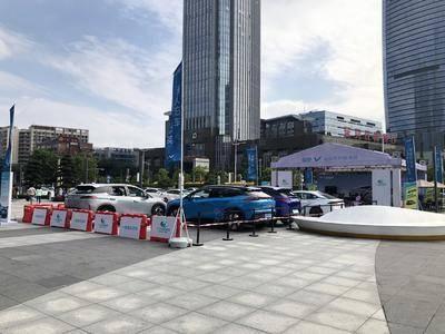 广汽新能源自动泊车埃安-东莞民盈国贸城