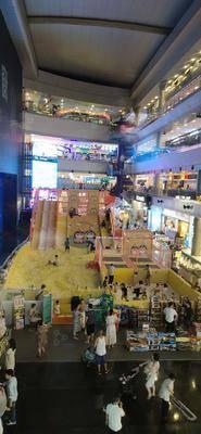 海洋球-成都海滨城购物中心