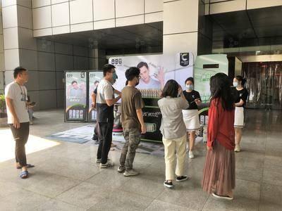燃力士写字楼巡展活动-深圳市国人通信大厦
