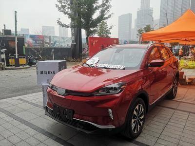 威马汽车静态展-杭州恒生科技园