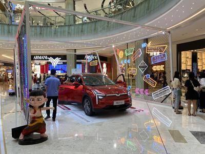 哪吒汽车全国巡展深圳站-深圳福田星河cocopark