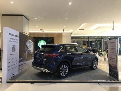 英菲尼迪QX50品牌车展-东莞首铸万科广场