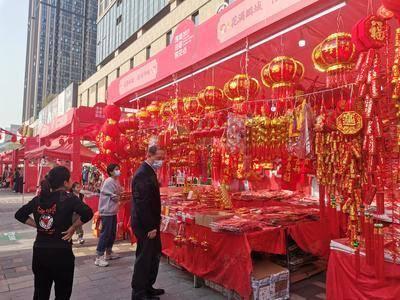 年货节灯笼售卖-深圳宝安福城万达广场