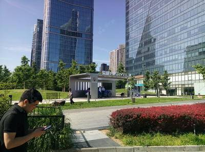 荣威品牌车展-北京环球金融中心