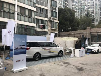 别克GL8社区巡展-上海华阳苑